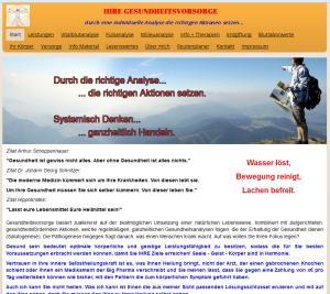 VitalblutAnalyse Homepage