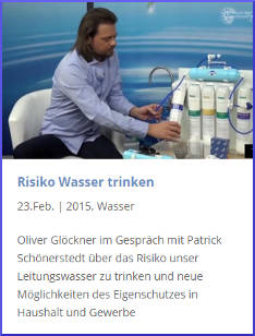 Risiko Wasser trinken