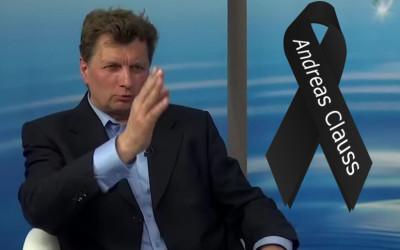 Andreas Clauss † 22.09.2016 verstorben